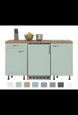Keukenblok 150 Karat incl koelkast en kookplaat KIT-912