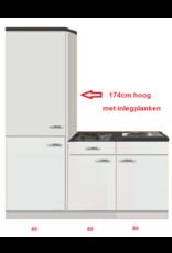 Keukenblok 180 met service kast KIT-3304