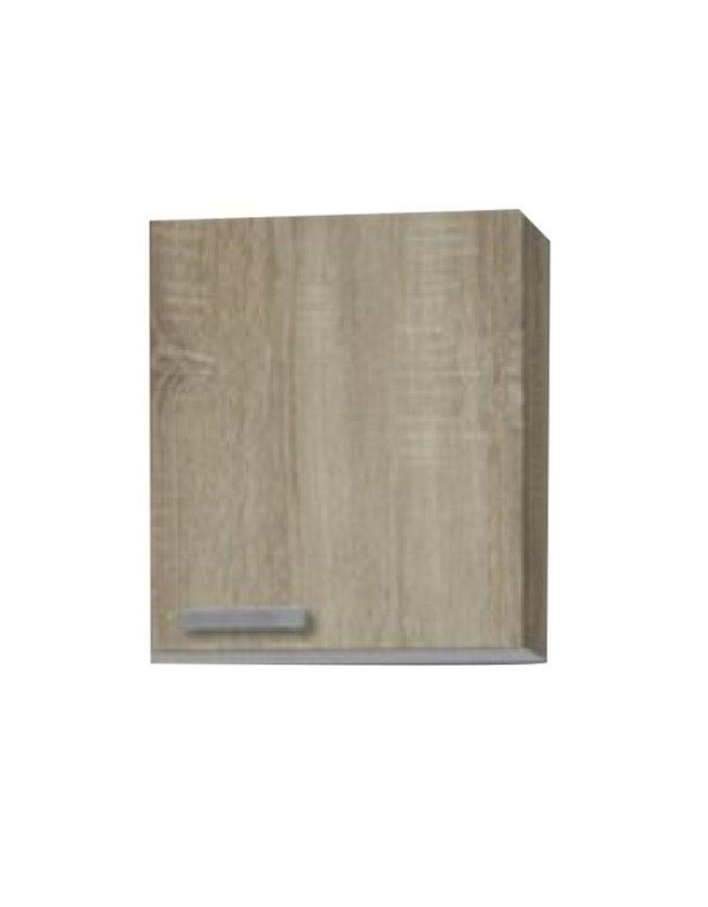 Wandkast Neapel licht eiken ruw (BxHxD) 40,0x84,8x60,0 cm KIT-1930
