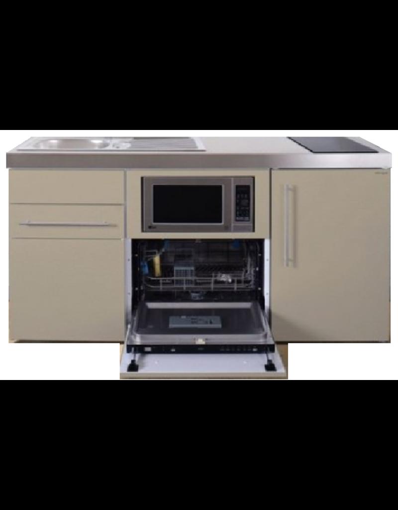MPGSM 160 Zand met koelkast, vaatwasser en magnetron  KIT-984