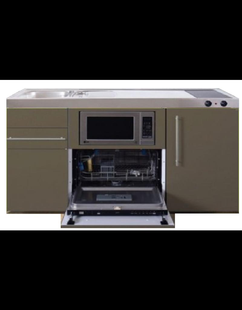 MPGSM 150 Bruin met vaatwasser, koelkast en magnetron KIT-923