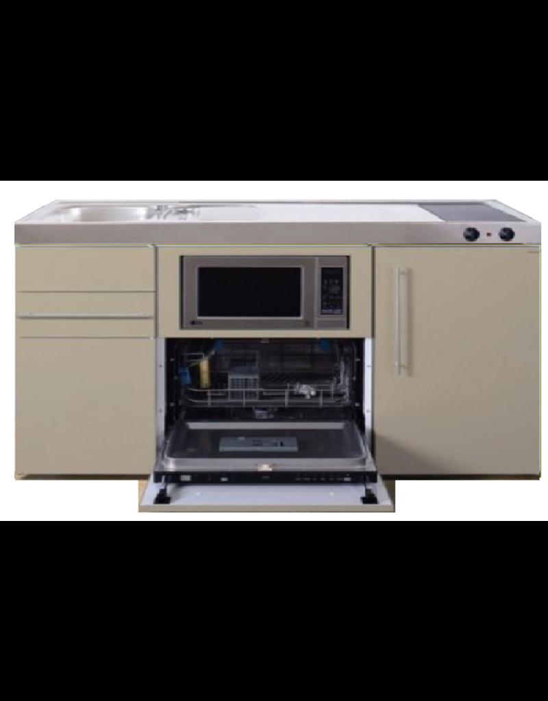 MPGSM 150 Zand kleurig met vaatwasser, koelkast en magnetron KIT-922