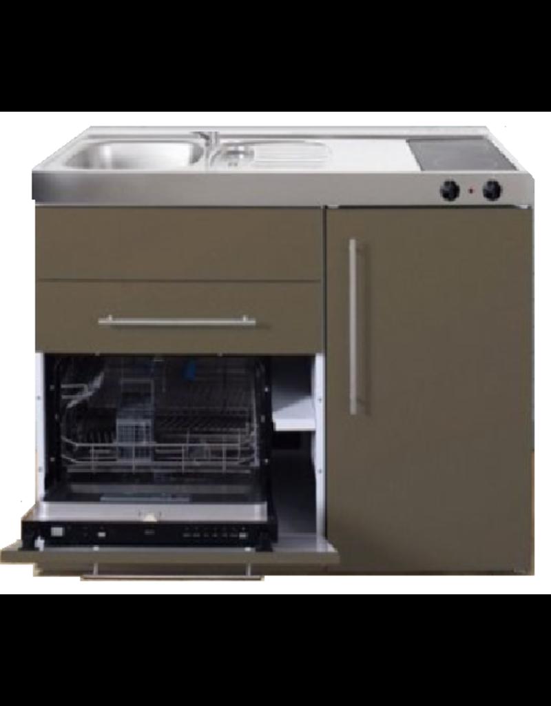 MPGS 120 Bruin met vaatwasser en koelkast KIT-9591