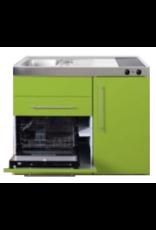 MPGS 120 Groen met vaatwasser en koelkast KIT-9594