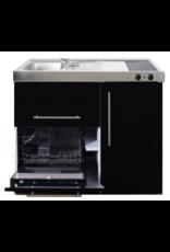 MPGS 120 Zwart metalic met vaatwasser en koelkast KIT-9597