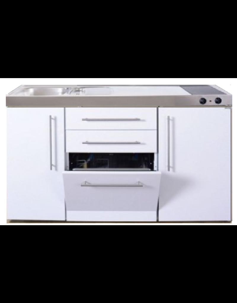 MPGS 150 Wit met vaatwasser en koelkast KIT-9542