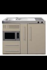 MPM 120 A Zand met koelkast, apothekerskast en magnetron KIT-9543