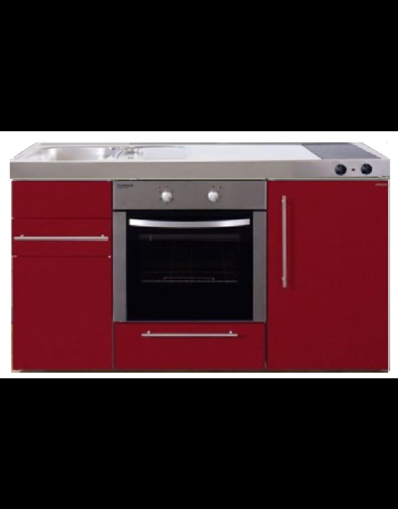MPB 150 Rood met koelkast en oven KIT-934