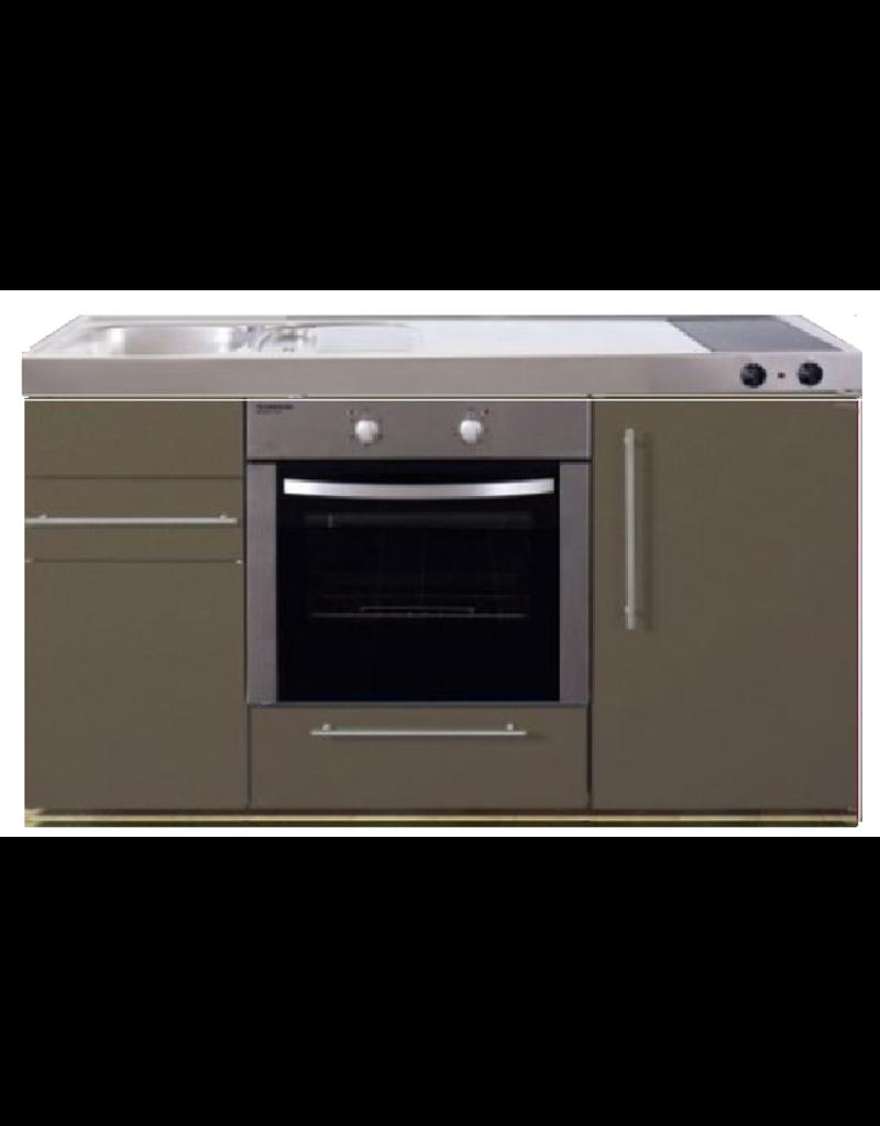 MPB 150 Bruin met koelkast en oven KIT-936