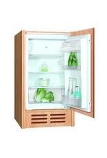Keuken 240cm wit hoogglans incl koelkast, kookplaat en apothekerskast KIT-372