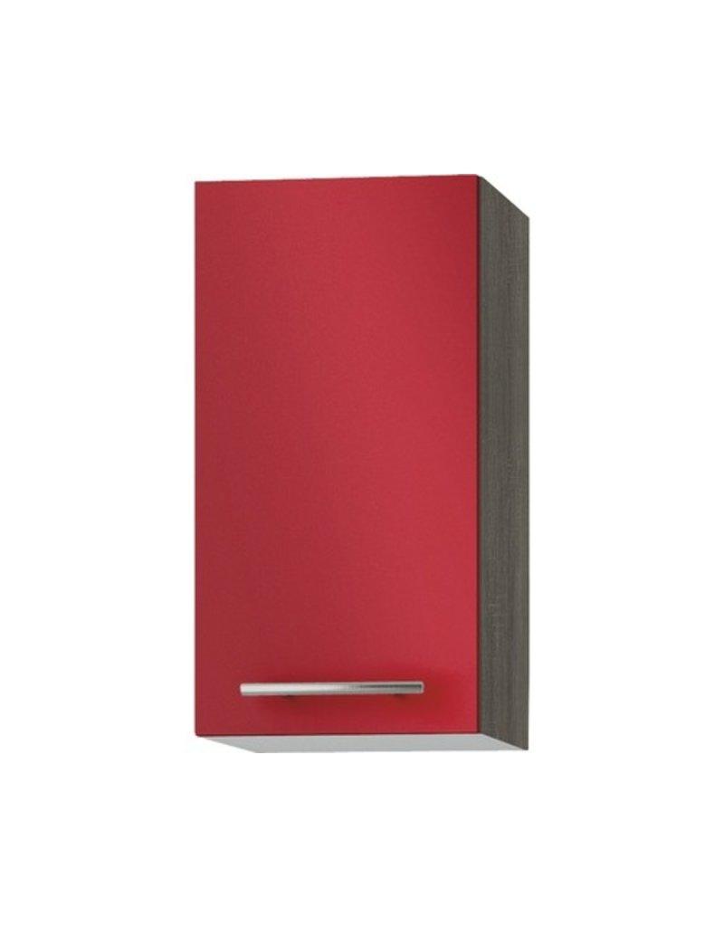 Wandkast Imola signaal rood (BxHxD) 30 x 57,6 x 34,6 cm KIT-522