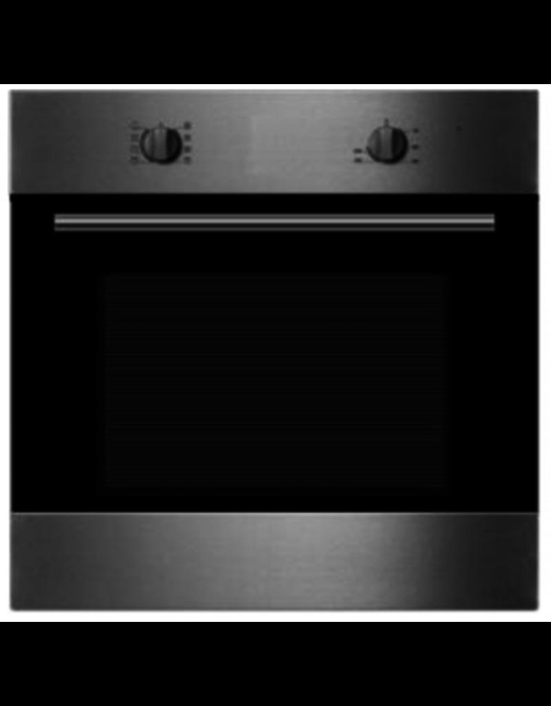 Keukenblok 210 cm Antraciet hoogglans incl inbouw apparatuur KIT-3847