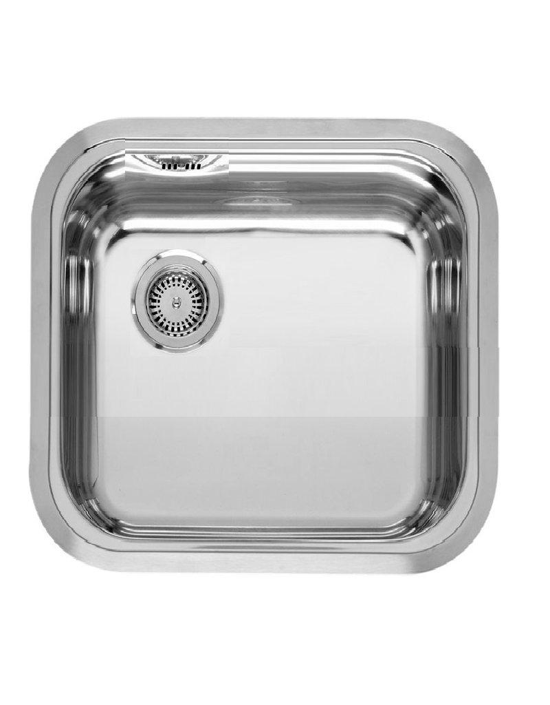Keukenblok 100 cm Antraciet hoogglans incl magnetron KIT-1347