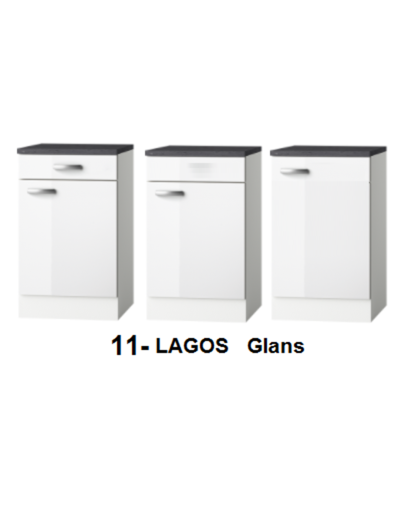 Keukenblok Lagos 140cm  KIT-2616
