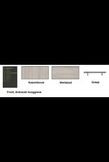 Keukenblok 140 Karat incl kookplaat en wandkasten KIT-926