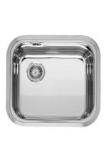 Keukenblok wit hoogglans 180 cm incl inbouw koelkast KIT-509