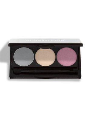 Mineralogie Trio Pressed Eye Shadow - French Lavender