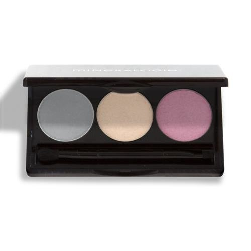 Mineralogie Trio Pressed Eye Shadow - French Lavender