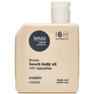 Laouta Beach Body Tanning Oil - Cacao