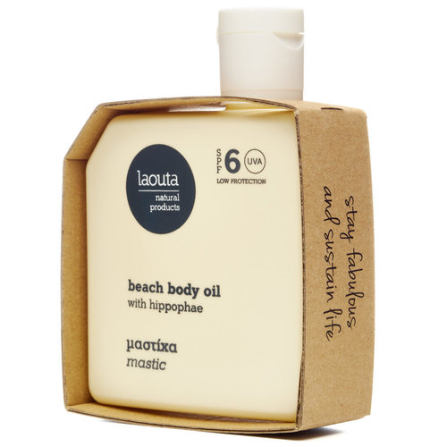 Laouta Beach Body Tanning Oil - Mastic