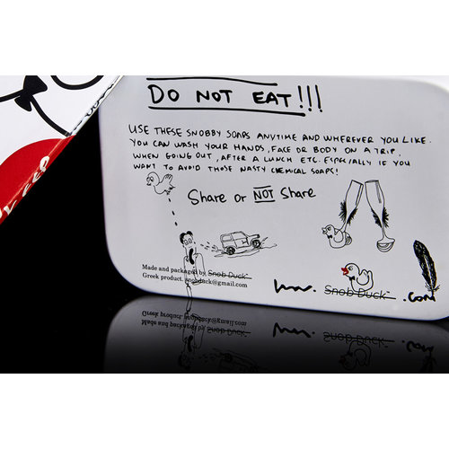 Snob Duck Natürliche Seife - One Use Tin