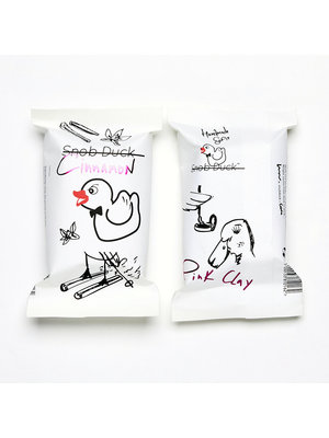 Snob Duck Natürliche Seife - Zimt - Pink Clay