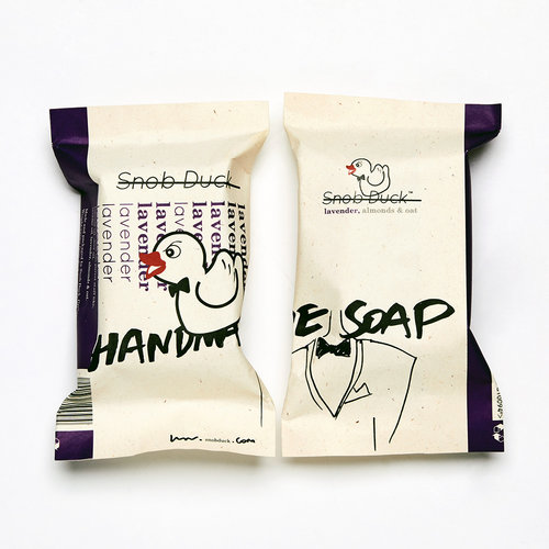 Snob Duck Natural Soap - Lavender