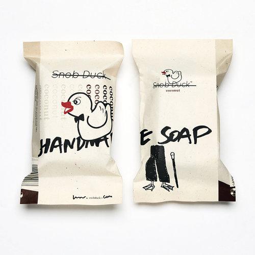 Snob Duck Natural Soap - Coconut