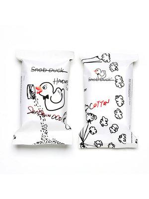 Snob Duck Naturseife - Sandelholz - Baumwolle
