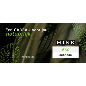 MinkBC Cadeaubon €50,-