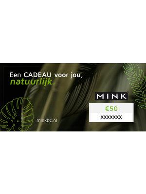 MinkBC Giftcard €50,-