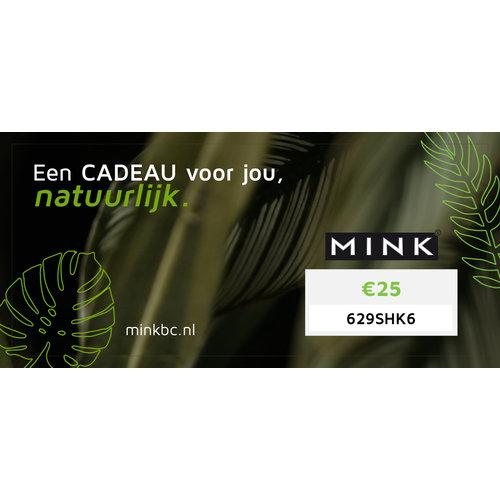 MinkBC Cadeaubon €25,-