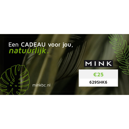 MinkBC Giftcard €25,-
