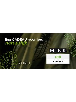 MinkBC Cadeaubon €10,-