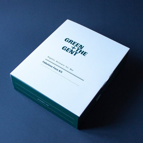Green + The Gent Fabulous Face Kit