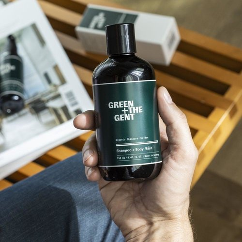 Green + The Gent Everyday Essentials Kit for Men