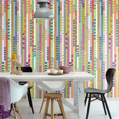 Eijffinger Eijffinger Stripes+ Wallpower 377213 Chopsticks Colour