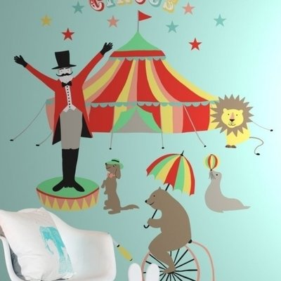 Esta for kids Esta Home Everybody Bonjour PhotowallXL Circus 158703