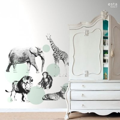 Esta for kids Esta Home Everybody Bonjour PhotowallXL Dieren 158704