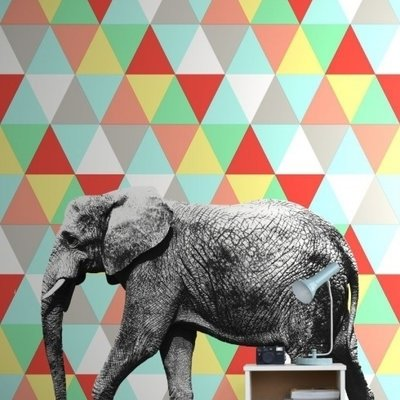 Esta for kids Esta Home Everybody Bonjour PhotowallXL Olifant 158707