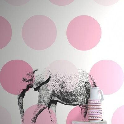 Esta for kids Esta Home Everybody Bonjour PhotowallXL Olifant 158708