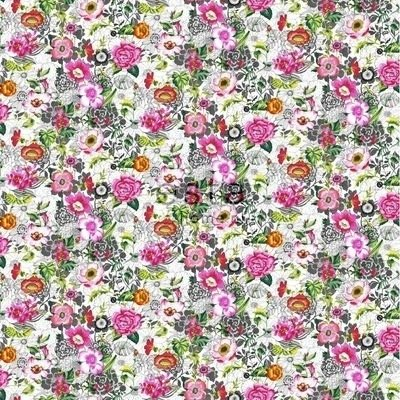 Esta Home Esta Home Brooklyn Bridge WallpaperXXL Funky Flowers 158501