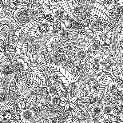 Esta Home Esta Home Cabana Bloem tekening behang 148616
