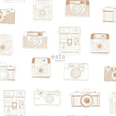 Esta Home Esta Home #FAB Polaroid camera's behang 138842