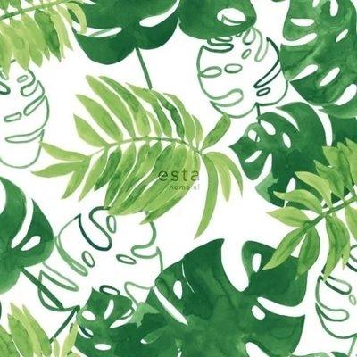 Esta Home Esta Home Greenhouse Jungle bladeren behang 138887