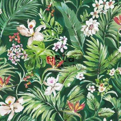 Esta Home Esta Home Jungle Fever Wallpaper XXL Tropische Bladeren en Bloemen 158893