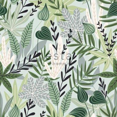 Esta Home Esta Home Jungle Fever Wallpaper XXL Scandinavian Leaves 158894