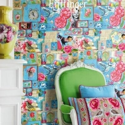 Pip studio Eijffinger Pip Studio II Wallpower Pip Art blue 313111