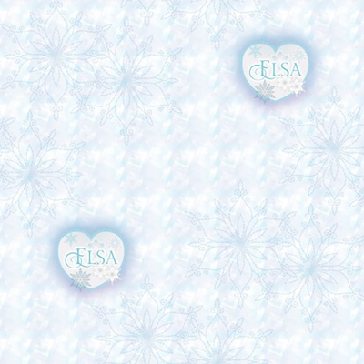 Dutch Wallcoverings Dutch Disney Frozen Elsa hearts behang WPD 9751