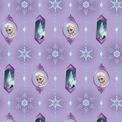 Dutch Wallcoverings Dutch Disney Frozen Violet behang WPD 9712